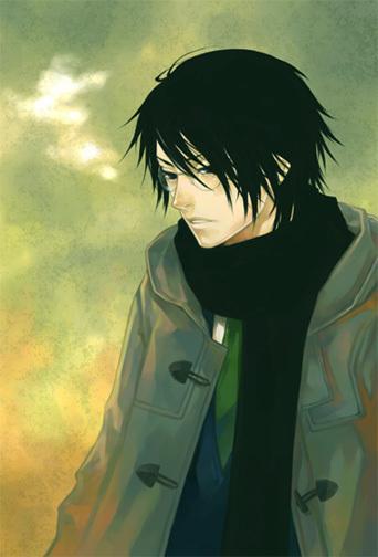 Zander Black. Anime_10