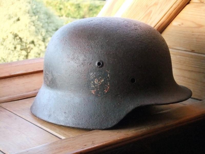 Vos casques allemands WW2... - Page 6 Dscf0010