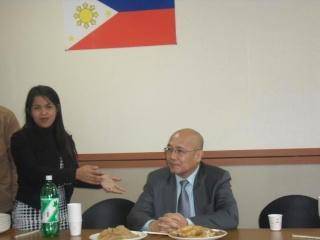 Ambassador Luis Cruz visits Kimje City Unhe_015