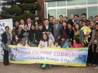 Ambassador Luis Cruz visits Kimje City Unhe_017