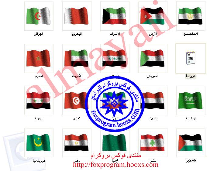 اعلام الدول العربية والعالميه للبيانات الشخصية 110