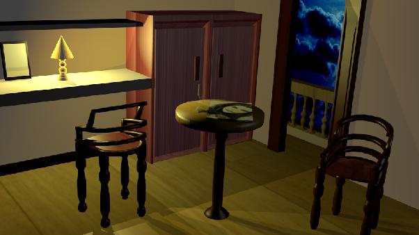 La 3D avec blender Chaise10