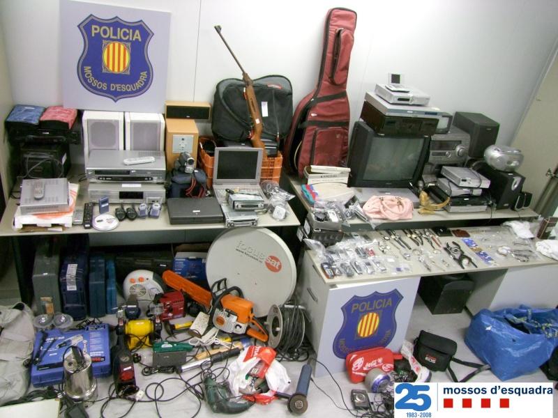 Presó per dos germans implicats en més d'una quinzena de robatoris al Baix Ebre Tarrag10