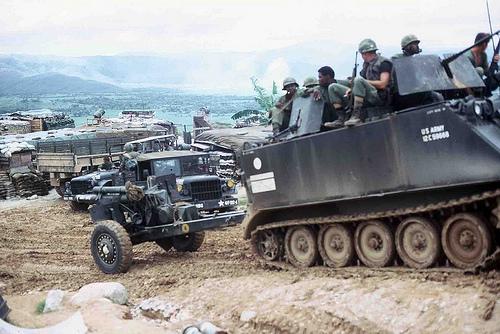 peinture - M-113 Acav+105mm - Vietnam - peinture du 105 mm Dragon - Page 10 36534910