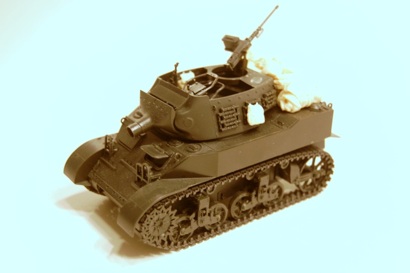 peinture - M-8 Gun motor carriage - Char terminé Dsc_0045