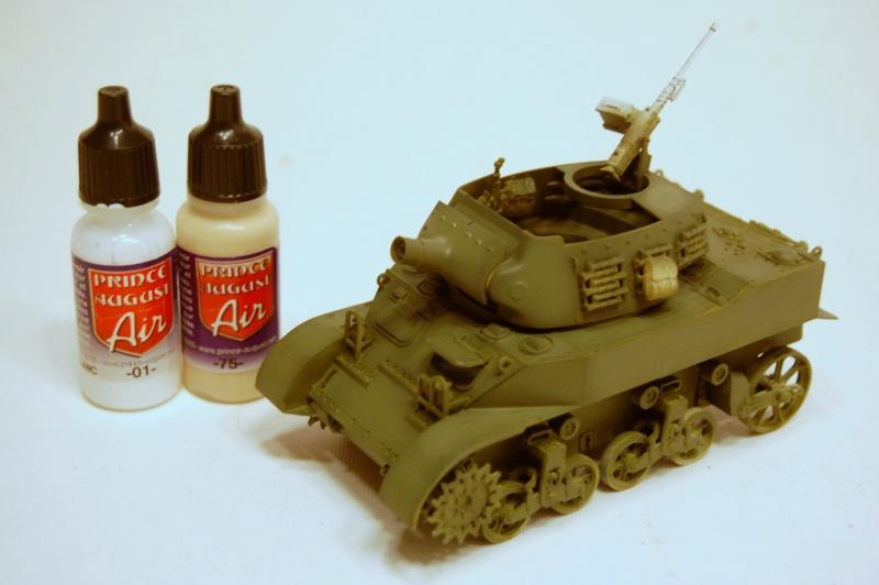 peinture - M-8 Gun motor carriage - Char terminé Dsc_0048