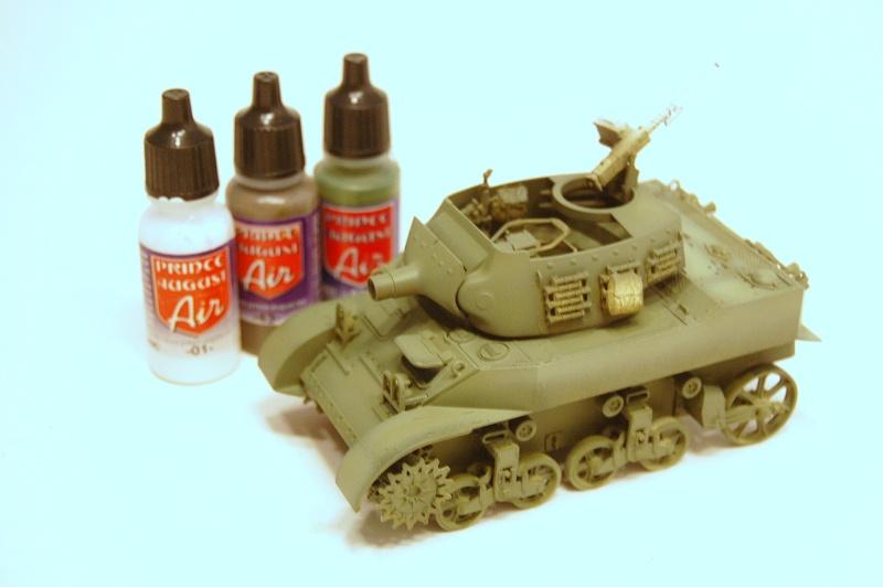 peinture - M-8 Gun motor carriage - Char terminé Dsc_0049