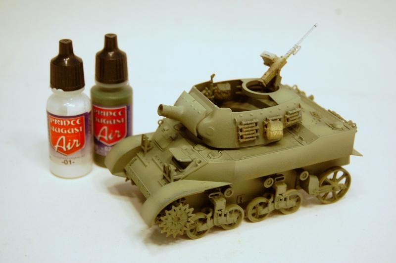 peinture - M-8 Gun motor carriage - Char terminé Dsc_0050