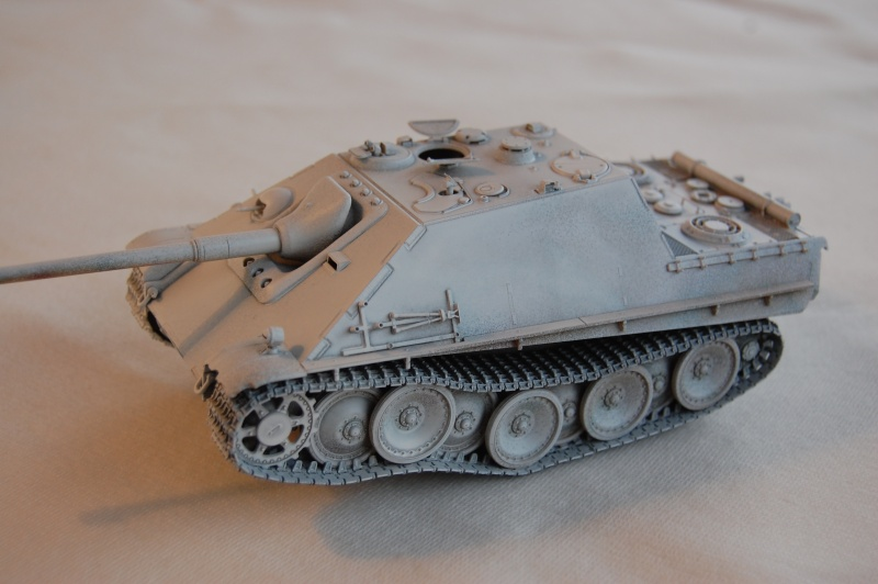 jagdpanther - DIO Jagdpanther late - T-34/85 - DE RETOUR !! micropeinture et patine Dsc_0445