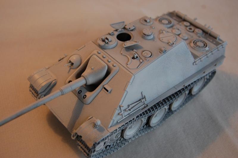 jagdpanther - DIO Jagdpanther late - T-34/85 - DE RETOUR !! micropeinture et patine Dsc_0448