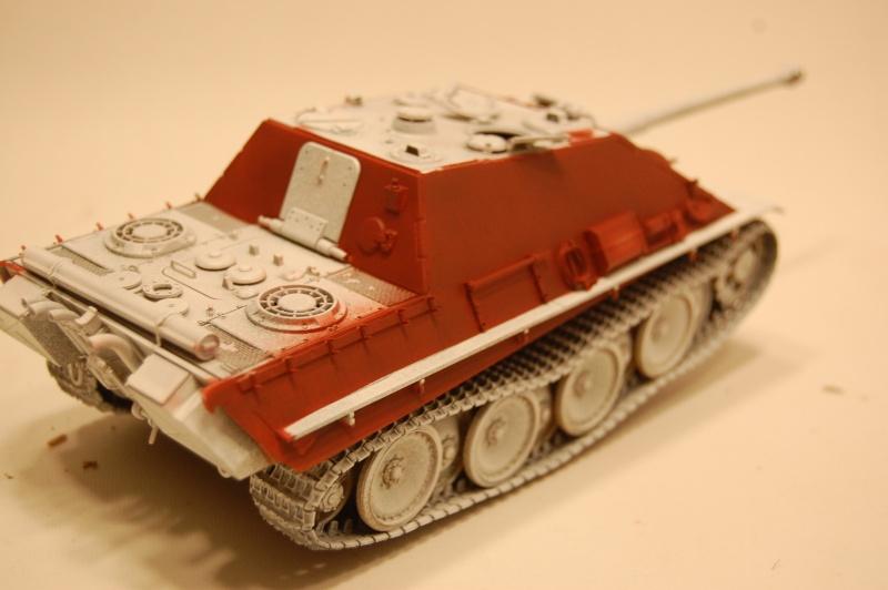 jagdpanther - DIO Jagdpanther late - T-34/85 - DE RETOUR !! micropeinture et patine Dsc_0547