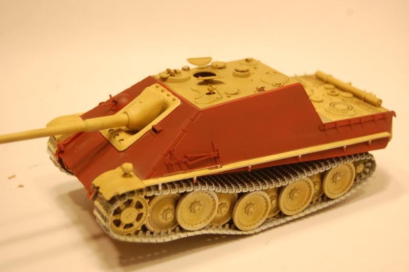 jagdpanther - DIO Jagdpanther late - T-34/85 - DE RETOUR !! micropeinture et patine Dsc_0549