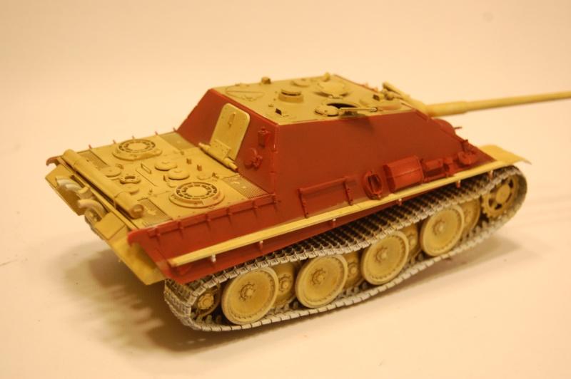 jagdpanther - DIO Jagdpanther late - T-34/85 - DE RETOUR !! micropeinture et patine Dsc_0550