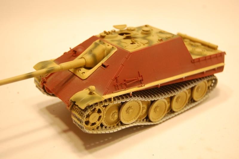 jagdpanther - DIO Jagdpanther late - T-34/85 - DE RETOUR !! micropeinture et patine Dsc_0551