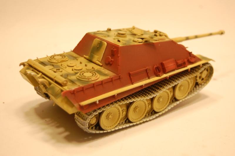 jagdpanther - DIO Jagdpanther late - T-34/85 - DE RETOUR !! micropeinture et patine Dsc_0552