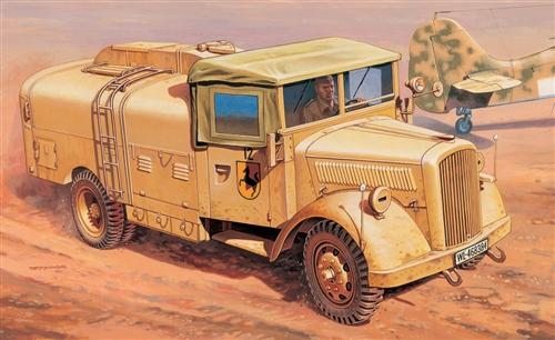 peinture - Opel blitz  tankwagen - peinture du Me-262 Ital6410