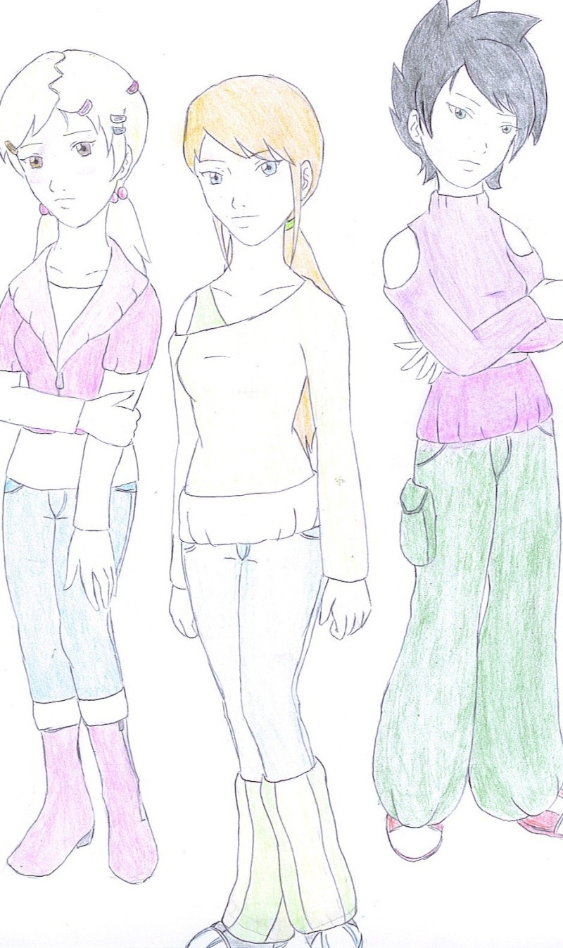 Ma fanfiction de Galactik football Girls210