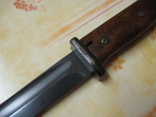Baïonnettes S 84/98 pour Mauser 98k. Ba35-210
