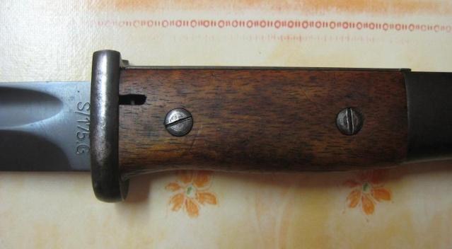Baïonnettes S 84/98 pour Mauser 98k. Ba35-410