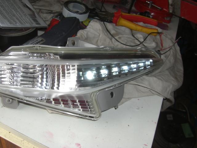 BKING avec LEDS Blanches dans les clignotants et feux à LED! Cimg7817