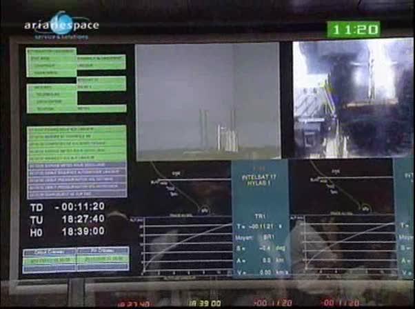 Ariane 5 ECA V198 / Hylas 1 + Intelsat 17 (26/11/2010) Vlcsna11