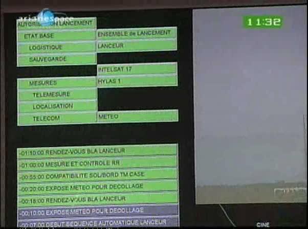 Ariane 5 ECA V198 / Hylas 1 + Intelsat 17 (26/11/2010) Vlcsna12