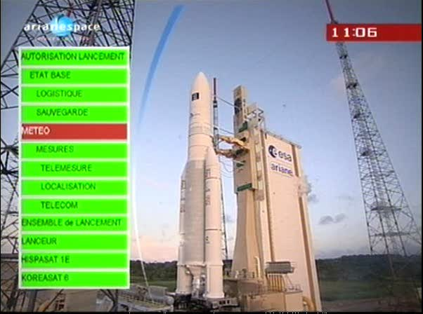 Ariane 5 V199 (Hispasat-1E + Koreasat 6) - 28.12.2010 Vlcsna25