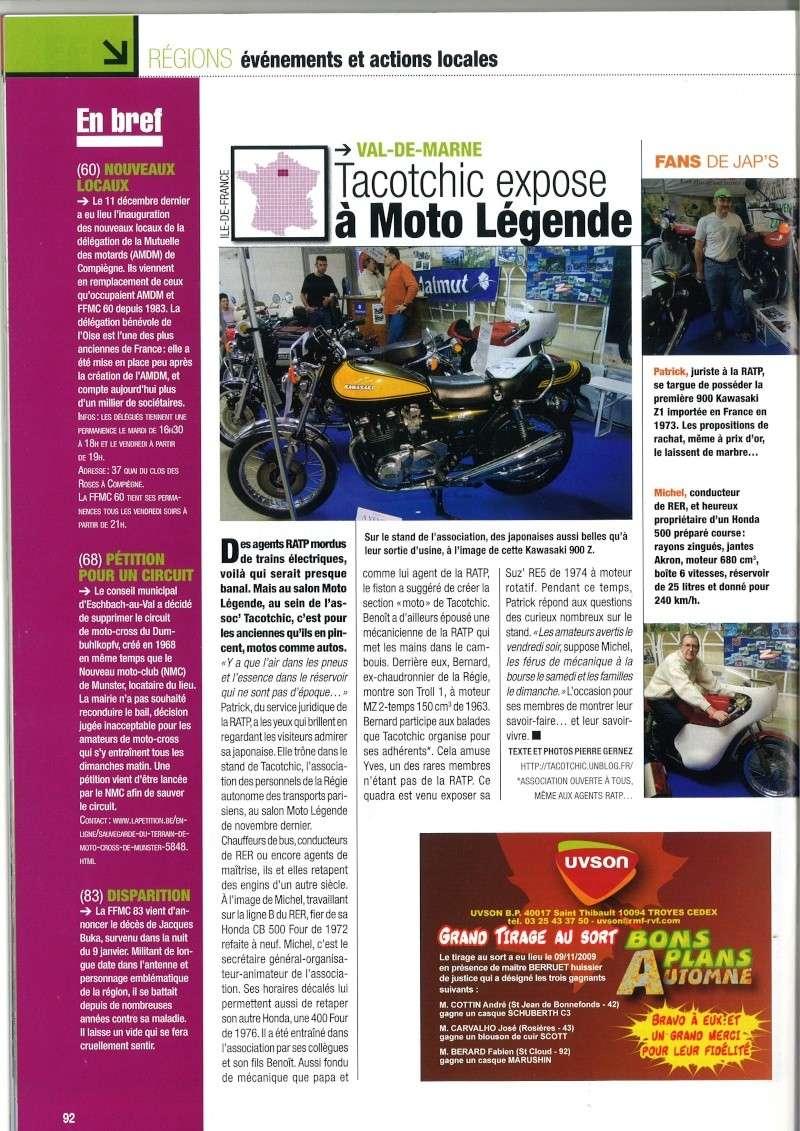 Les collecs de la R'tap vus dans la presse lors du dernier Moto Salon Moto_m10