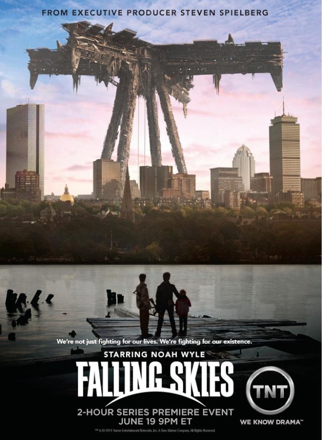 Falling Skies - Steven Spielberg Fallin12