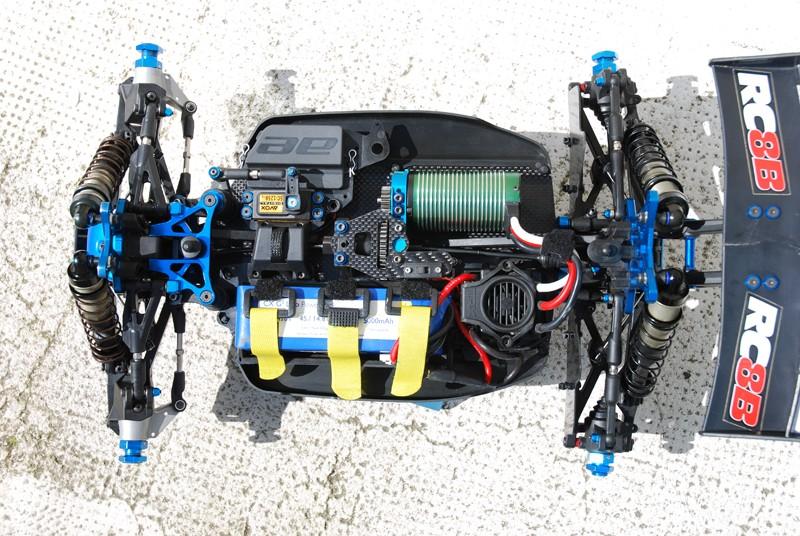 mon nouveau RC8BE BL Rc8be810