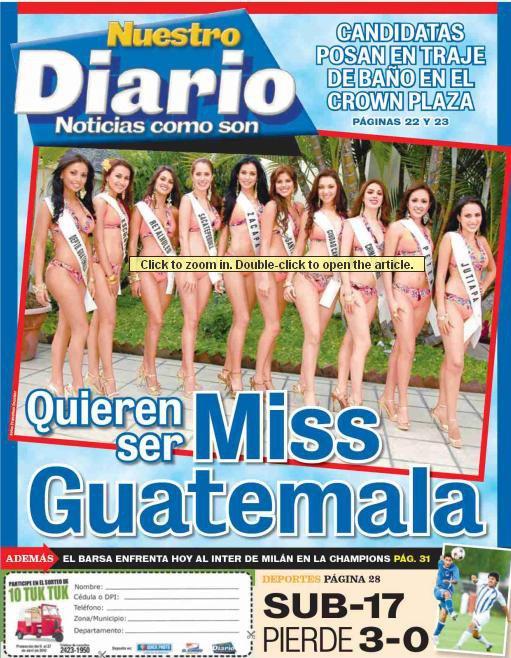 Miss Guatemala Universo 2010-contestants 26610_10