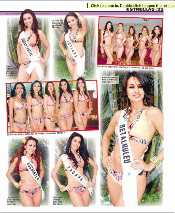 Miss Guatemala Universo 2010-contestants 26610_12
