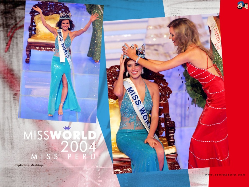Mantilla - Official Thread of Miss World 2004 - Maria Julia Mantilla - Peru Mis38d10