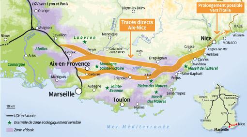 Autres tracés : toute la provence verte peut être impactée ! Lgv_pa10
