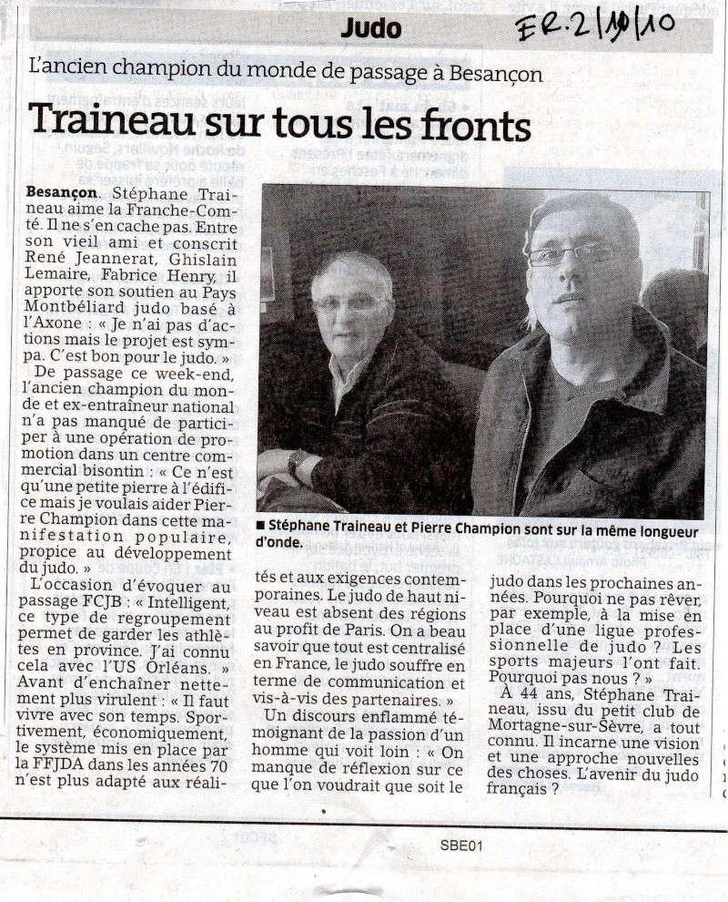 Traineau Stéphane, et si c'était le prochain patron de la FFJDA et du judo Français ? Ligue_10