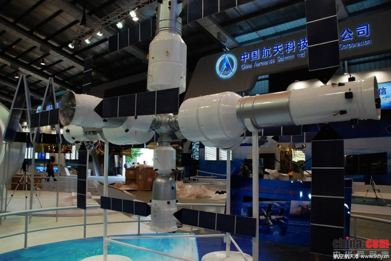 Tiangong - La station spatiale chinoise (CSS) - 2021 0615