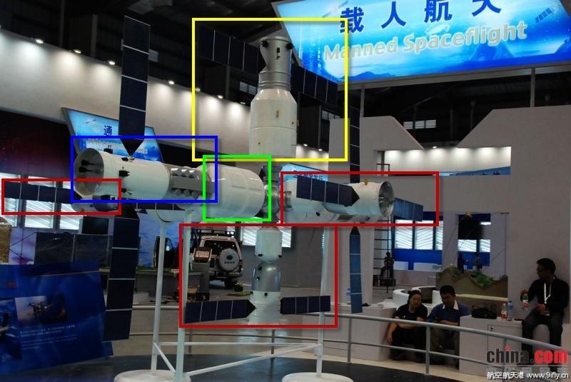 La station spatiale chinoise - 2020 14-11-10