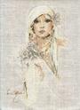 Картины, ставшие вышивками.. Sara-110