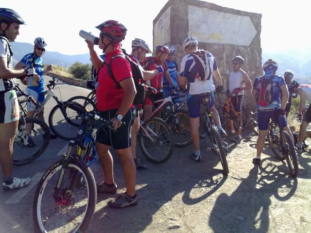 salida al pinar con los amigos de mtb malaga 05062014