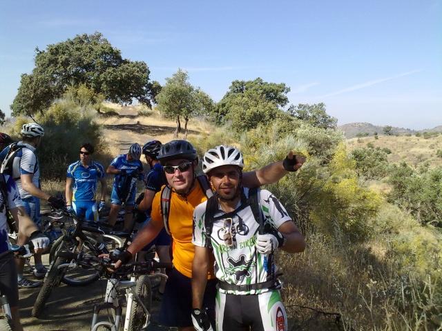 salida al pinar con los amigos de mtb malaga 05062015