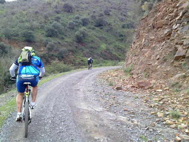 Los 101 kilometros por los montes (abandono a tiempo) 06032015