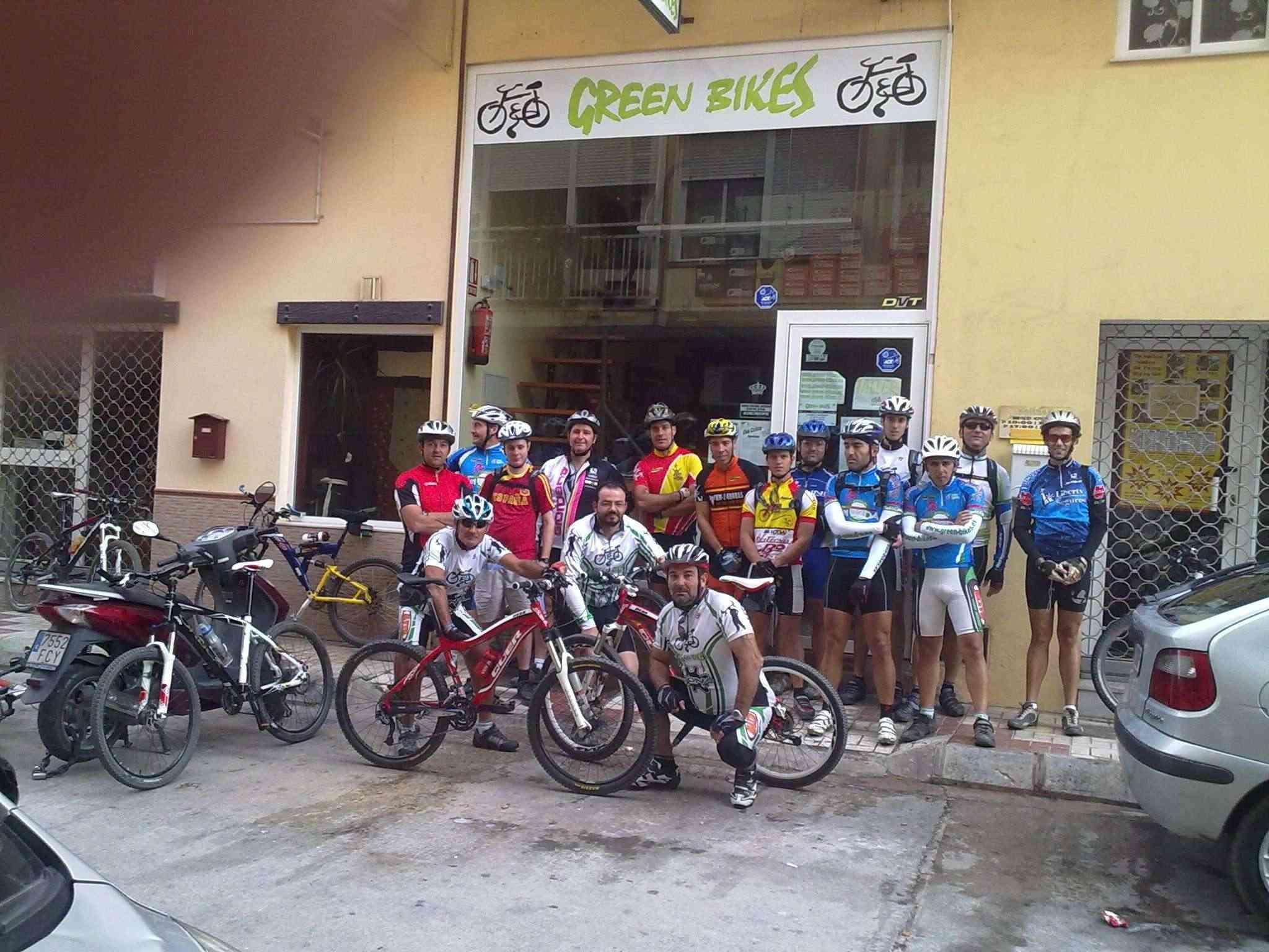 2ª Prueba  campeonato Green-bikes. Los 3 Arroyos 37 kms. 7 nov 2010 y CLASIFICACION 07112010