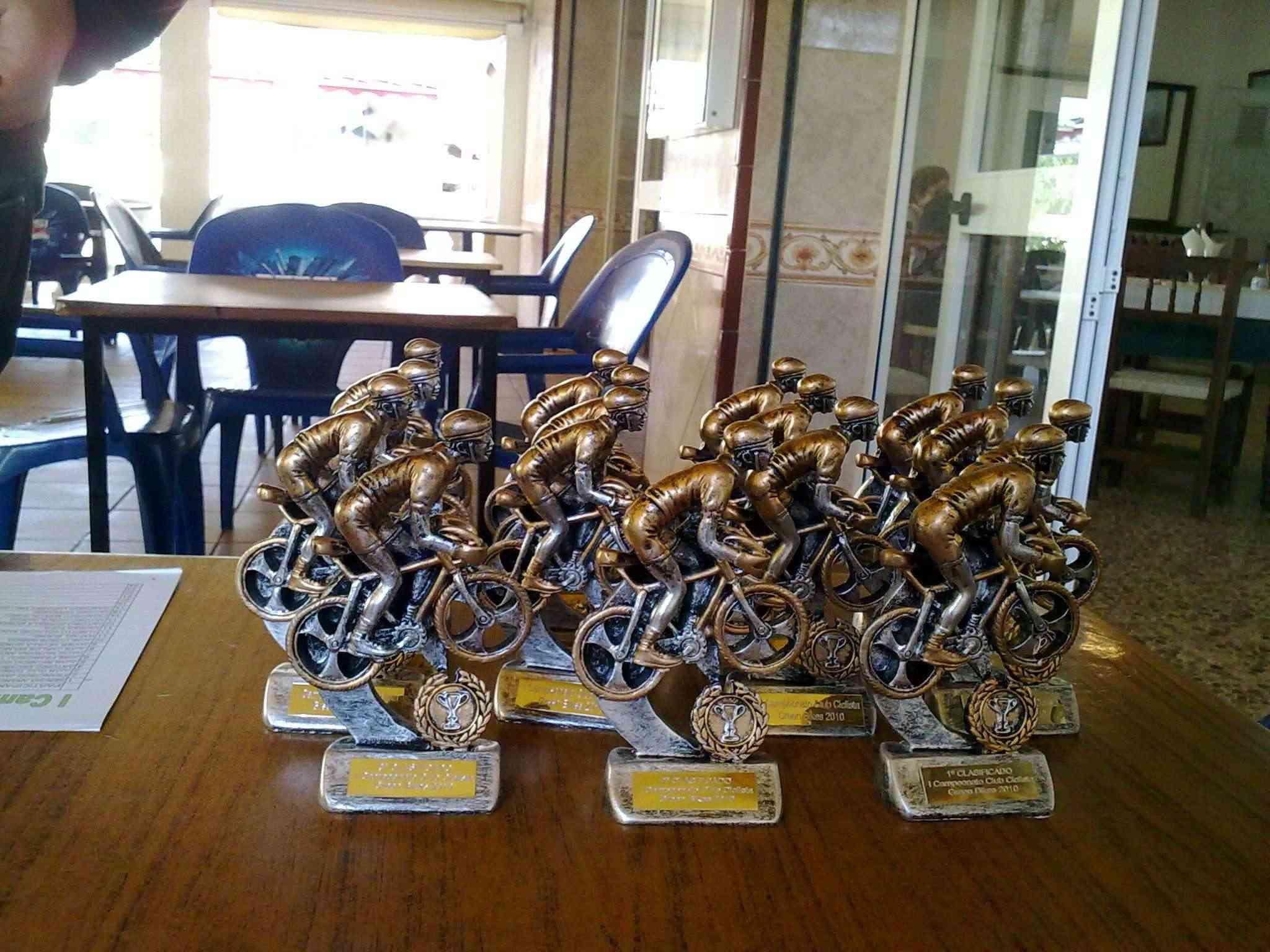 5ª prueba del campeonato green bikes y comida de navidad 2010 12122019