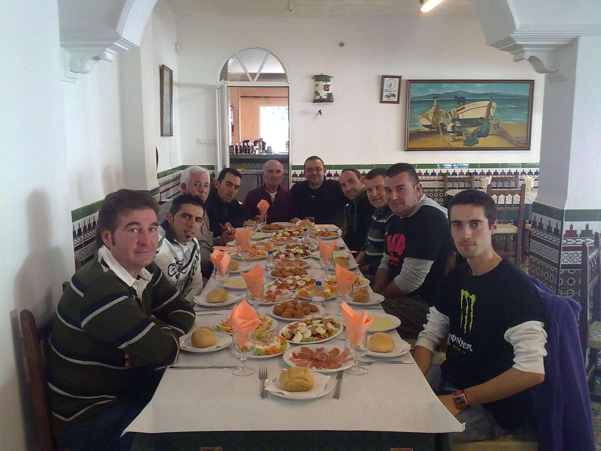 5ª prueba del campeonato green bikes y comida de navidad 2010 12122020