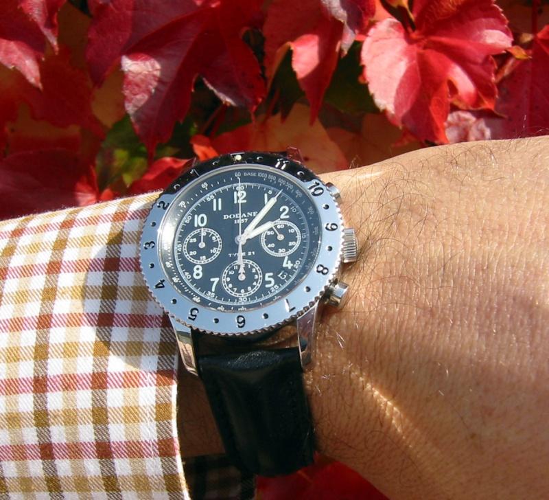 Comment portez-vous votre montre bracelet cuir ? Dodane11