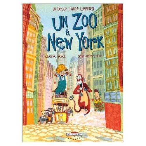 Un drôle d'Ange gardien - Tome 2: Un zoo à New-york Bd_un_11