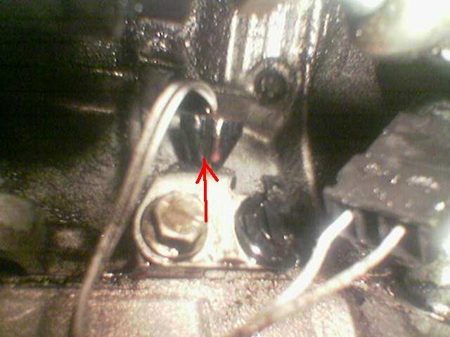 ou est la sonde temperature du moteur ? Sonden10