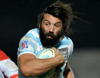 Barrages. Clermont/Racing et Toulouse/Castres Chabal10