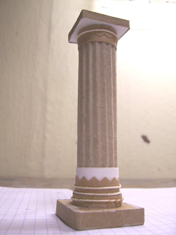 FABRICATION DE COLONES GREQUE OU ROMAINE 00510