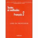 Cherche livre du professeur, Textes et méthodes 5ème, Nathan 1999 419e2a10